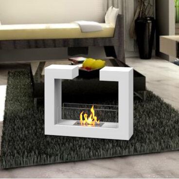 Orren Ellis Brienne Bio Ethanol Fireplace Wayfair