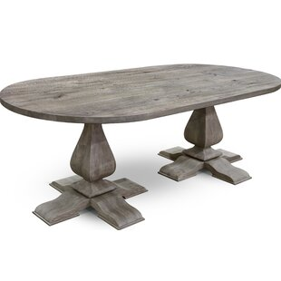 Shmuel Solid Wood Dining Table Gracie Oaks