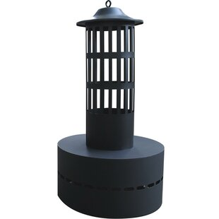 HY-C Steel Wood Burning Flame Tower