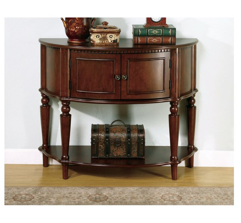 Ediline Wooden Console Table