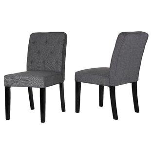 Cortesi Home Lyndon Dining Side Chair (Set of 2)
