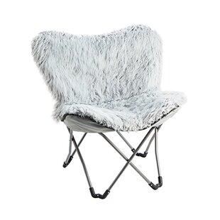 Charmant Lopp Fur Lounge Chair