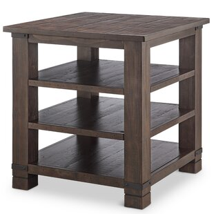 Best Reviews Kellyville Wood End Table by Gracie Oaks