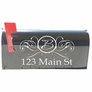 """TWO for $13.99  FREE SHIPPING CUSTOM MAIL BOX ADDRESS /& NUMBERS  5.5/"""" X 13/"""""""