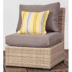 Crandall Patio Chair With Cushion by Rosecliff Heights Great Reviews