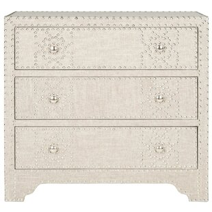 Gordy 3 Drawer Accent Chest by Safavieh