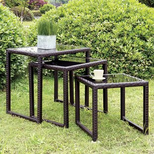 Major 3 Piece Side Table Set by Latitude Run Coupon