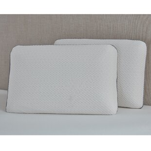 Pina Ventilated Medium Natural Talalay Standard Bed Pillow by Alwyn Home 2019 Sale