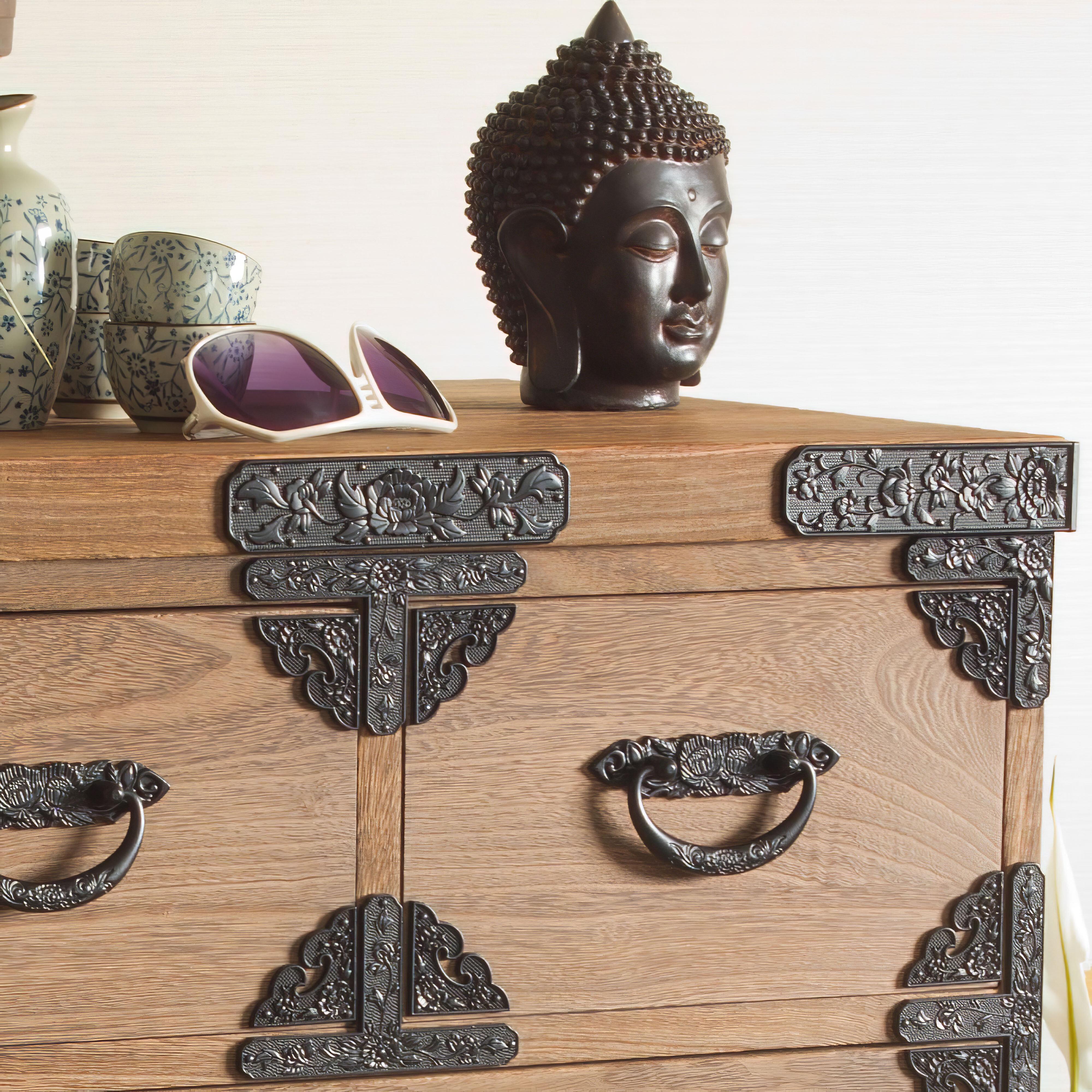 World Menagerie Usan Thai Buddha Head Bust Reviews Wayfair