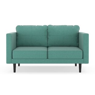 Shop Rocio Linen Weave Loveseat by Brayden Studio