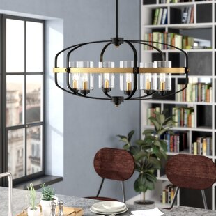 17 Stories Esme 6-Light Kitchen Island Pendant