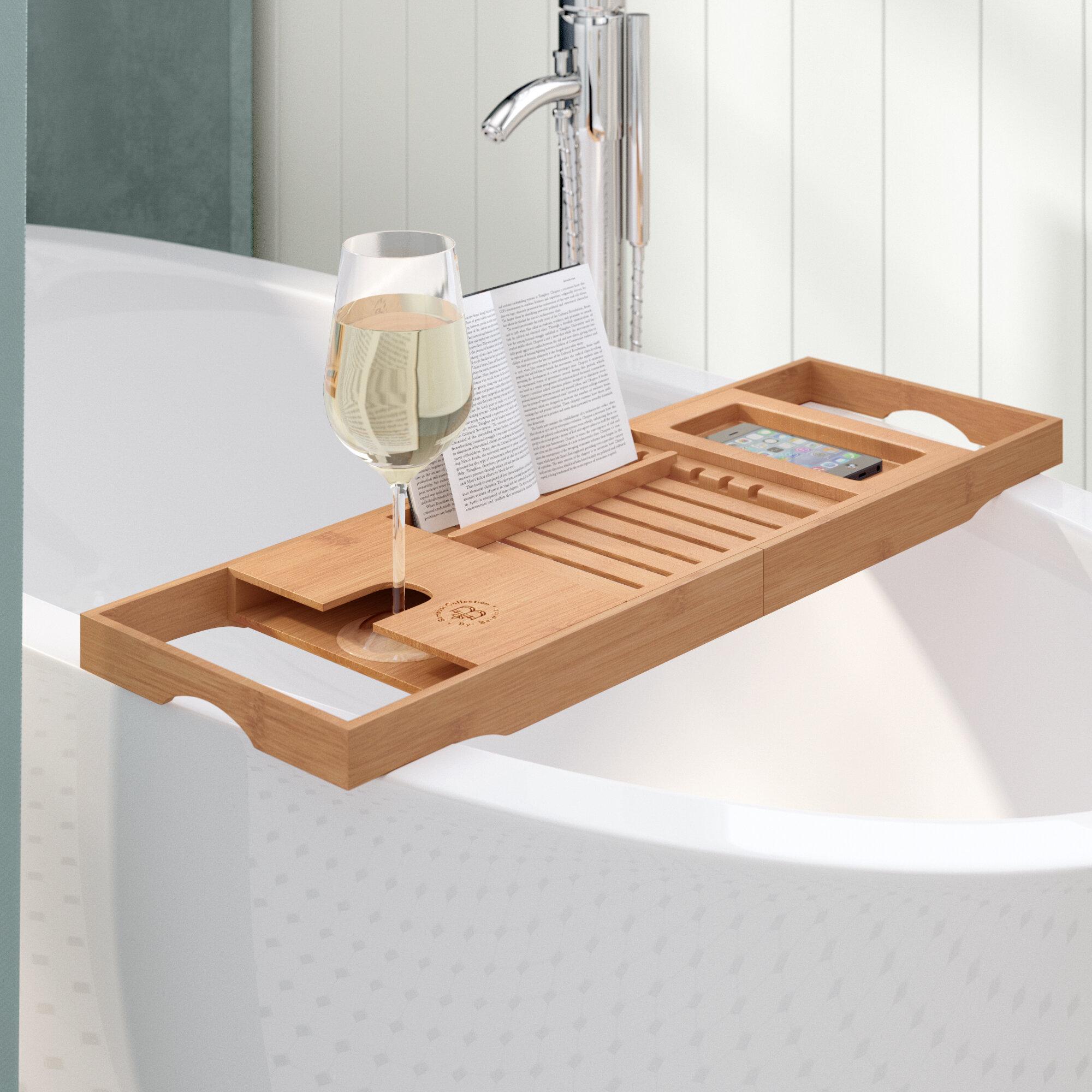 The Twillery Co Elledge Bath Caddy Reviews Wayfair