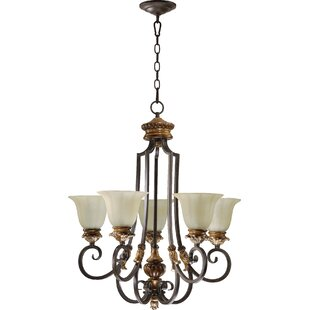 Quorum Capella 5-Light Shaded Chandelier