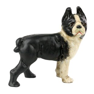 Wonderful Tuoi Boston Terrier Figurine