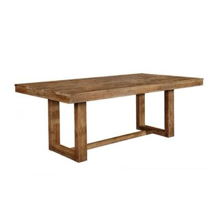 Union Rustic Paulk Rustically Charmed Wooden Dining Table