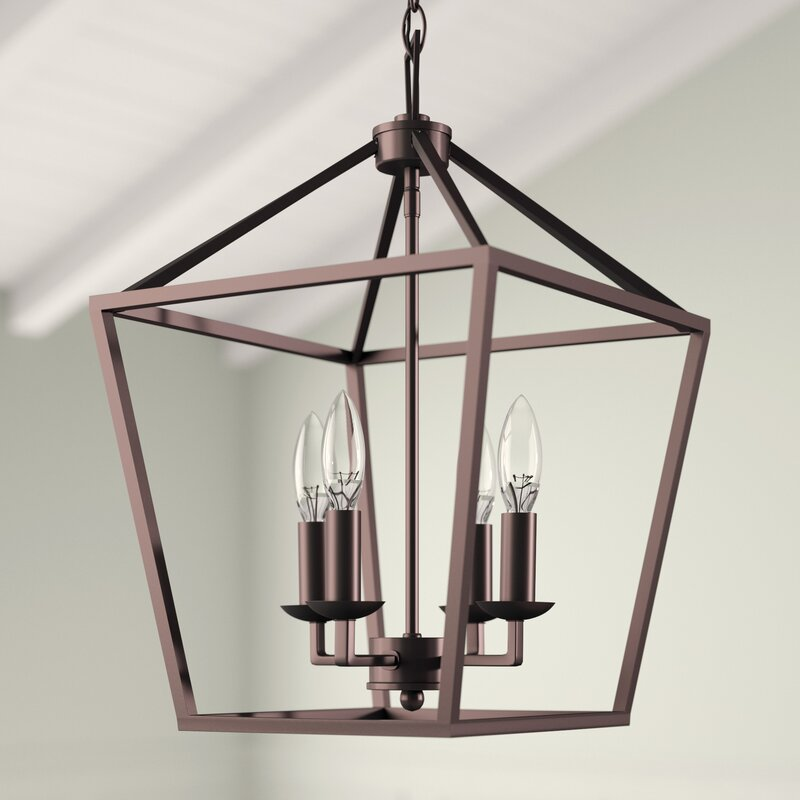 Roy 4 - Light Lantern Geometric Pendant