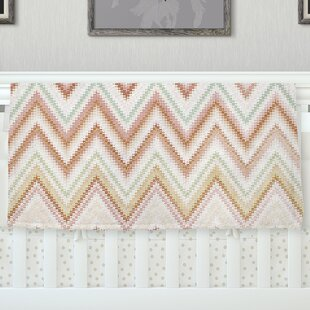 Find the perfect Seventies Chevron by Nika Martinez Fleece Baby Blanket By East Urban Home