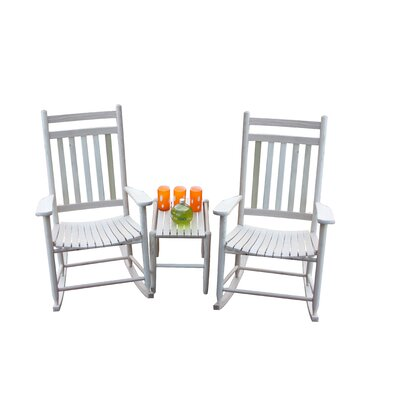 3 Piece Conversation Set Finish: Unfinished by Dixie Seating