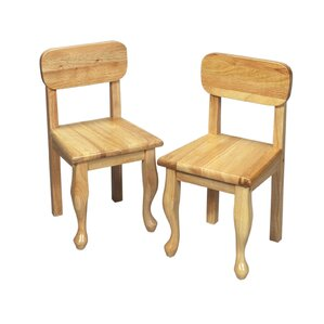 queen anne childu0027s desk chair set of