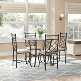 Victor 5 Piece Dining Set by Winston Porter