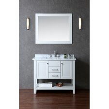 Small Vanity Table No Mirror IKEA Micke desk with Stave mirror