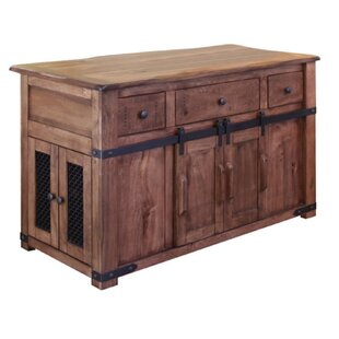 Hinton Kitchen Island by Gracie Oaks Cool