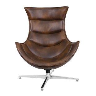 Carlin Swivel Lounge Chair by Orren Ellis