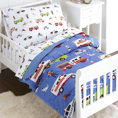Heroes 4 Piece Toddler Bedding Set