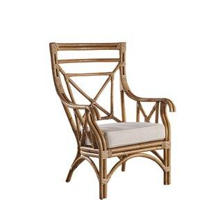 Panama Jack Sunroom Plantation Bay Wingback Chair