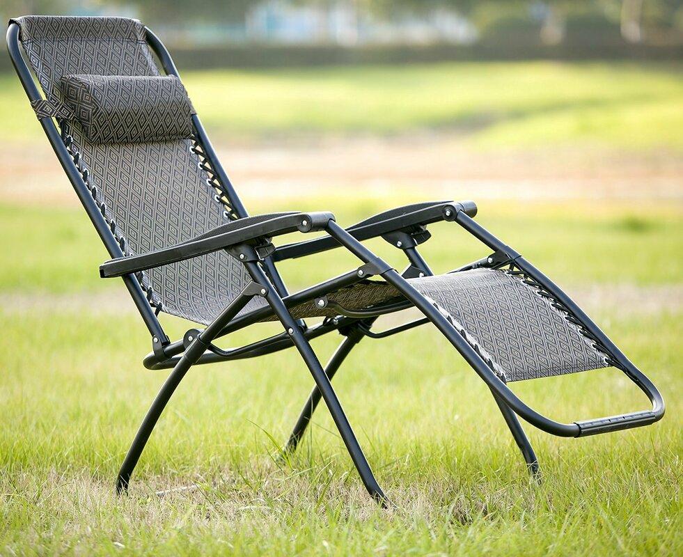 merax zero gravity folding lounge chair & reviews | wayfair