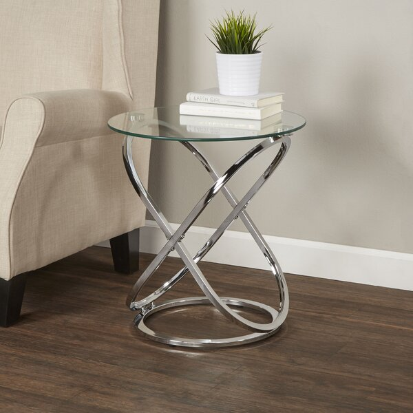 Wade Logan Heineman End Table Reviews Wayfair