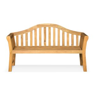 Dodds Wooden Bench By Sol 72 Outdoor