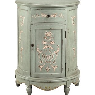 Savner 1 Door Accent Cabinet by World Menagerie