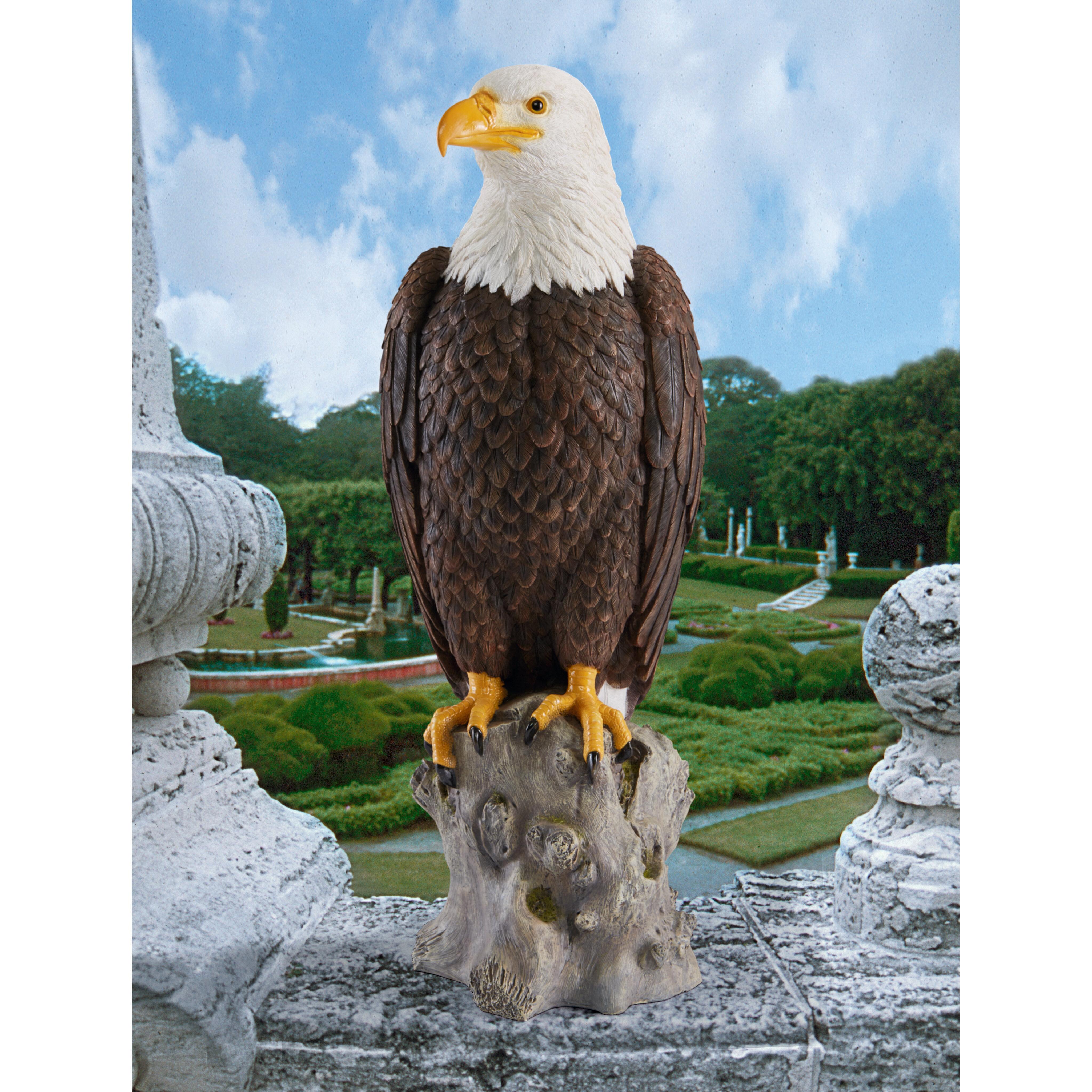 Design Toscano Majestic Mountain Eagle Garden Statue U0026 Reviews | Wayfair
