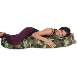Microbead Body Pillow by Deluxe Comfort