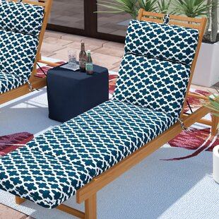 Wilcoxen Indoor/Outdoor Chaise Lounge Cushion