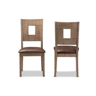 Cropsey Upholstered Dining Chair (Set of ..