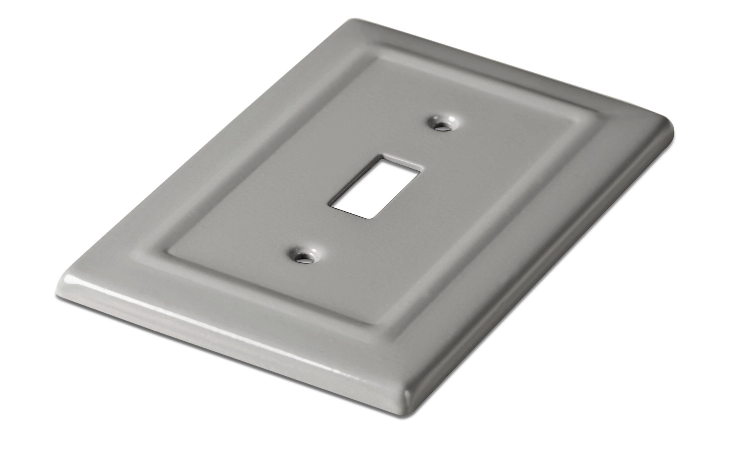 Gray Switch Plates You Ll Love In 2021 Wayfair