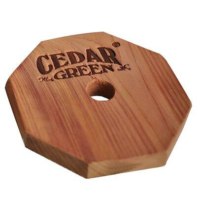 Aromatic Cedar Rings Cedar Green