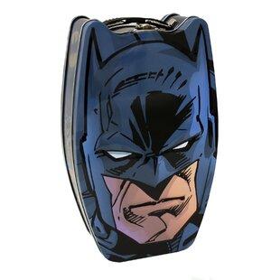 Savings Batman Head  Metal/Wire Box ByTin Box Company