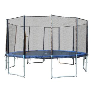 Newacme LLC 16' Round Trampoline with Safety Enclosure