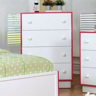 Best Reviews Painter Wooden 4 Drawer Chest by Latitude Run