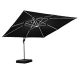 Double Top Deluxe 9 x 12 Rectangular Cantilever Umbrella
