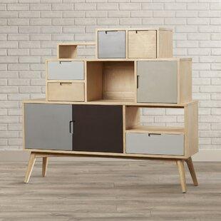 Brayden Studio Polen Abstract Accent Cabinet