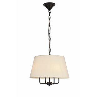 Gracie Oaks Stockton 4-Light Cone Pendant
