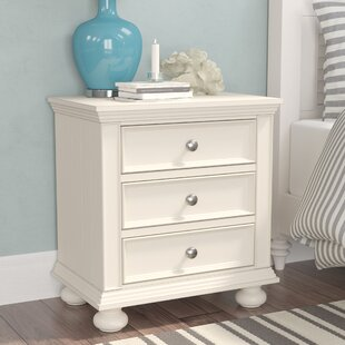 Marhill 3 Drawer Nightstand by Beachcrest Home
