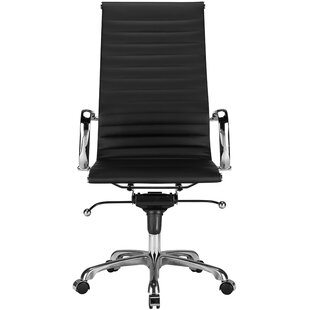 Edgemod Ribbed High-Back Desk Chair