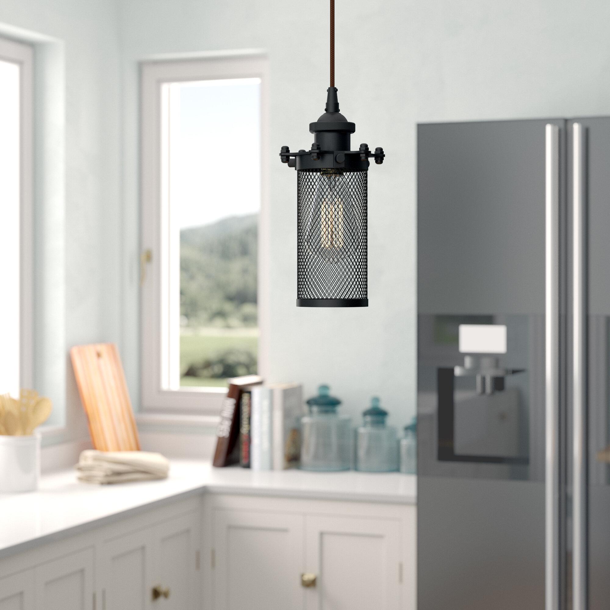 Narvaez 10 - Light Lantern Cylinder Pendant