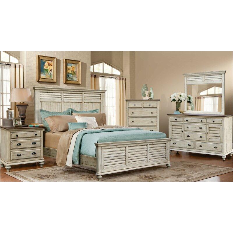 Gracie Oaks Coppin Standard 5 Piece Bedroom Set Reviews Wayfair