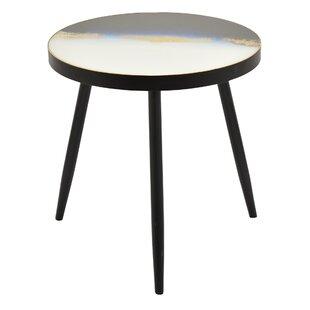 Spokane Wood Decorative End Table